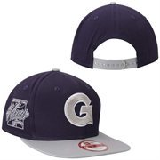 Men's New Era Blue Georgetown Hoyas Primary Fan Redux Original Fit 9FIFTY Adjustable Hat
