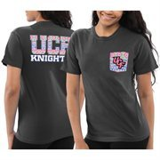 Women's UCF Knights Black Coastal Aztec T-Shirt