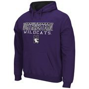 Northwestern Wildcats 3-Stack II Pullover Hoodie - Purple