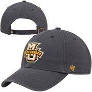 '47 Brand Marquette Golden Eagles Clean Up Adjustable Hat - Navy Blue