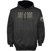 Colorado Buffaloes Knockout Pullover Hoodie - Charcoal