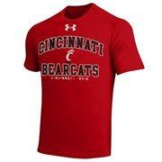 Cincinnati Bearcats School Mascot Tech T-Shirt - Red