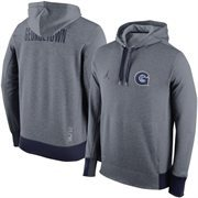 Mens Georgetown Hoyas Nike Gray Jordan Performance Pullover Hoodie