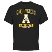 Appalachian State Mountaineers Campus Icon T-Shirt - Black