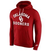 Oklahoma Sooners Nike Club Rewind Hoodie - Crimson