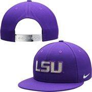 Men's LSU Tigers Nike Purple 2014 Music City Bowl Sideline Diamond Dust True Snapback Hat