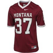 Nike Montana Grizzlies #37 Game Football Jersey - Maroon
