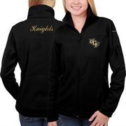 Women's UCF Knights Columbia Black Give & Go Full Zip Jacket