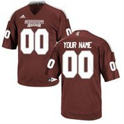Mississippi State Bulldogs Custom Replica Football Jersey - Maroon