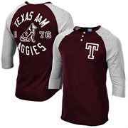 Men's adidas Maroon Texas A&M Aggies Originals Three-Quarter Sleeve Raglan T-Shirt