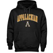 Appalachian State Mountaineers Basic Fleece Hoodie - Black