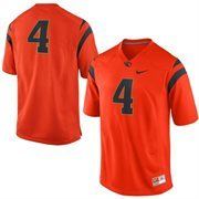Oregon State Beavers Nike No. 4 Replica Football Jersey - Orange