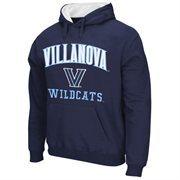 Villanova Wildcats Arch & Logo Mascot Pullover Hoodie - Navy Blue