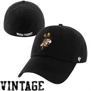 '47 Brand Wake Forest Demon Deacons New Vault Franchise Fitted Hat - Black