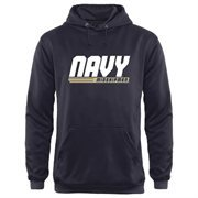 Men's Navy Midshipmen Navy Blue Billboard Hoodie