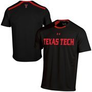 Texas Tech Red Raiders Under Armour 2014 Sideline Win It Performance T-Shirt - Black