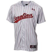 Under Armour South Carolina Gamecocks Replica Baseball Performance Jersey - Gray