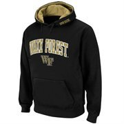 Wake Forest Demon Deacons Black Classic Twill II Pullover Hoodie Sweatshirt