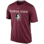 Nike Florida State Seminoles (New) Logo Legend Dri-FIT Performance T-Shirt - Garnet