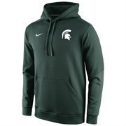 Mens Michigan State Spartans Nike Sideline KO Chain Fleece Therma-FIT Hoodie