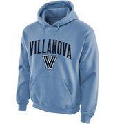 Villanova Wildcats Midsize Arch Pullover Hoodie - Light Blue
