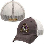 '47 Brand East Carolina Pirates Caprock Canyon Flex Hat - Charcoal/White
