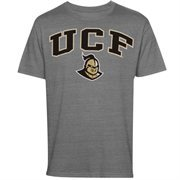 Mens Gray UCF Knights Arch Over Logo T-Shirt