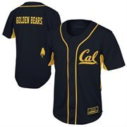 Cal Bears Fielder Baseball Jersey - Navy Blue