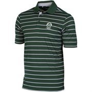 Mens Colorado State Rams Under Armour Green Trinity Performance Polo