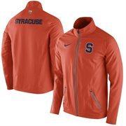 Mens Syracuse Orange Nike Orange On-Court Game Jacket