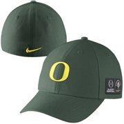 Mens Oregon Ducks Nike Green 2015 College Football Playoff Rose Bowl Bound Swoosh Flex Hat