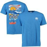 Men's Royal Florida Gators Scenic Comfort Colors T-Shirt