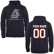 UTEP Miners Personalized Football Pullover Hoodie - Navy Blue