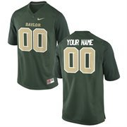 Men's Baylor Bears Nike Green Team Color Custom Game Jersey