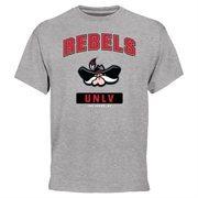UNLV Rebels Campus Icon T-Shirt - Ash