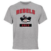 UNLV Rebels Campus Icon T-Shirt - Ash