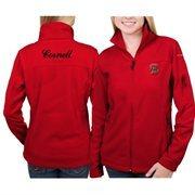 Women's Cornell Big Red Columbia Carnelian Give & Go Full Zip Jacket