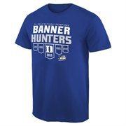 Men's Duke Blue Duke Blue Devils 2015 NCAA Men's Basketball National Champions Banner Hunters T-Shirt