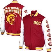 Mens USC Trojans Cardinal Commemorative Jacket