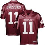 Montana Grizzlies #11 Fan Football Jersey - Maroon