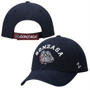 Zephyr Navy Blue Gonzaga Bulldogs NCAA Centerpiece Slouch Adjustable Hat