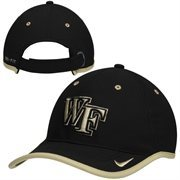 Mens Wake Forest Demon Deacons Nike Black 2014 Coaches Performance Adjustable Hat