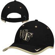 Mens Wake Forest Demon Deacons Nike Black 2014 Coaches Performance Adjustable Hat