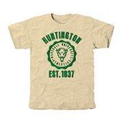 Marshall Thundering Herd Old-School Seal Tri-Blend T-Shirt - Cream