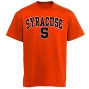 Mens Orange Syracuse Orange Arch Over Logo T-Shirt