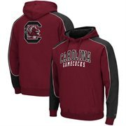 Mens South Carolina Gamecocks Garnet Thriller Pullover Hoodie