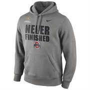 Mens Ohio State Buckeyes Nike Gray 2015 College Football Playoff National Championship Bound