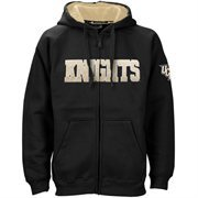UCF Knights Black Classic Twill Full Zip Hoodie Sweatshirt