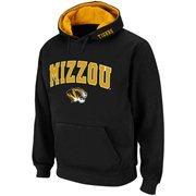 Missouri Tigers Black Classic Twill II Pullover Hoodie Sweatshirt