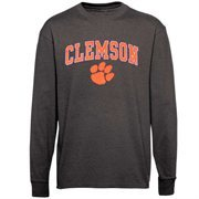 Clemson Tigers Midsize Long Sleeve T-Shirt - Charcoal